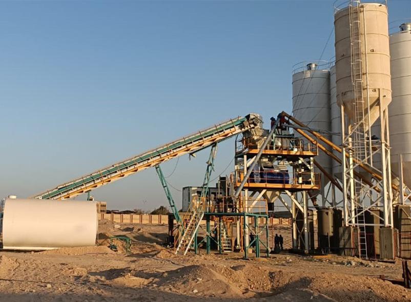 Concrete-Batch-Mixing-Plant